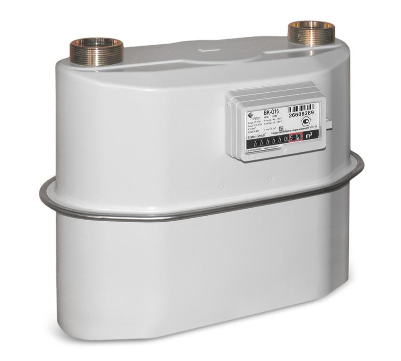 Счётчики газа диафрагменные ВК-G6