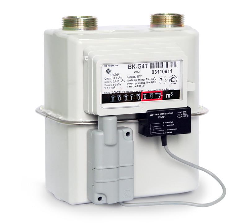 Счетчик газа ВЕКТОР–Т G1,6Т | G2,5Т | G4Т с функцией коррекции по температуре