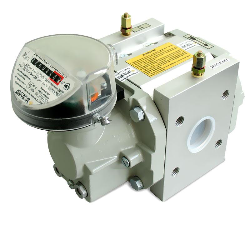 Счетчик газа  Delta G25 DN50 1:100 PN16 bar Max 40 Min 0.4 m3/час