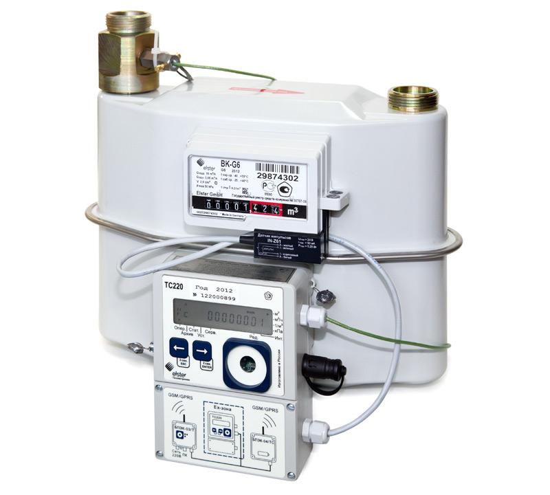Комплекс для измерения количества газа СГ-ТК-Д-2,5 BK-G1,6
