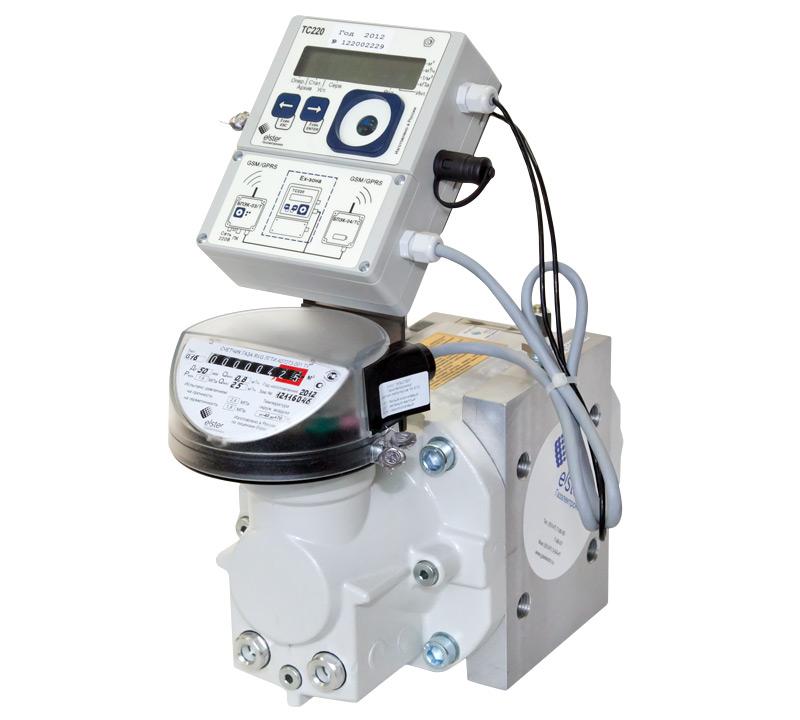 Комплекс для измерения количества газа СГ-ТК-Р-65