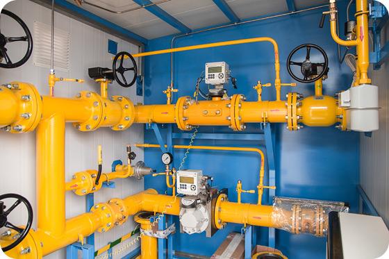 комплекс учета расхода газа