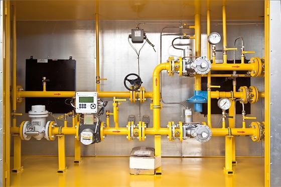 узлы учета газа на базе RVG