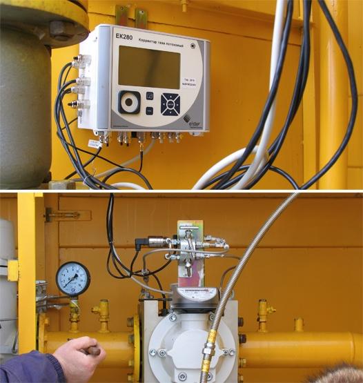 Потоковый корректор газа ЕК 280.
