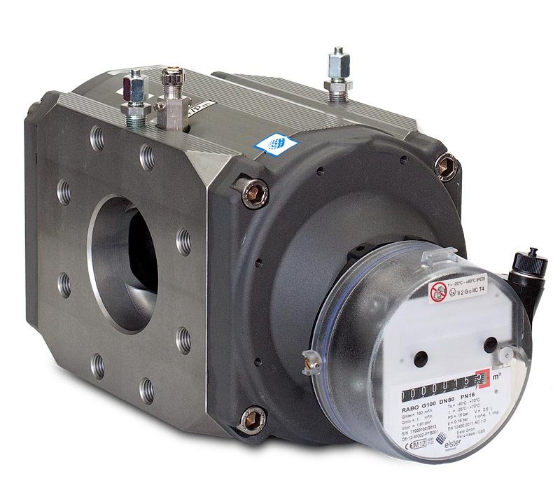 RABO счетчик газа ротационный G16, G25, G40, G65, G100, G160, G250