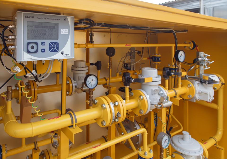 Потоковый корректор газа ЕК290