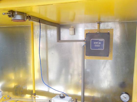 Контроллер автономный пунктов редуцирования и учёта газа КПРГ-06