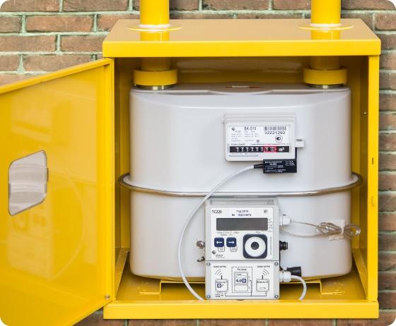 Комплекс для измерения количества газа СГ-ТК-Д-16 BK-G10