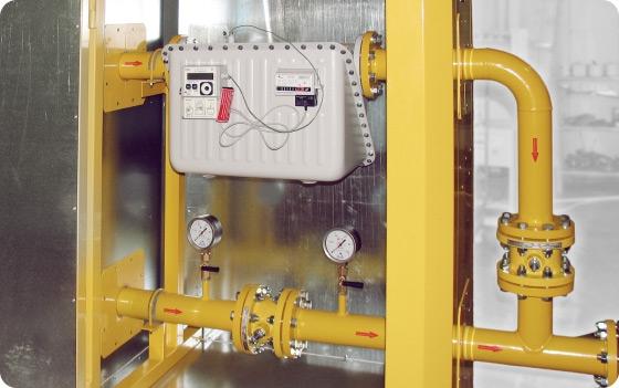 Измерительные комплексы (узлы учета) газа на базе счётчиков BK