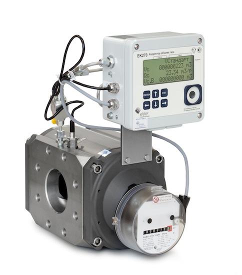 Ротационный счетчик газа RABO G100