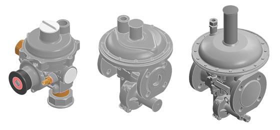 Регулятор давления газа MR50 SF12