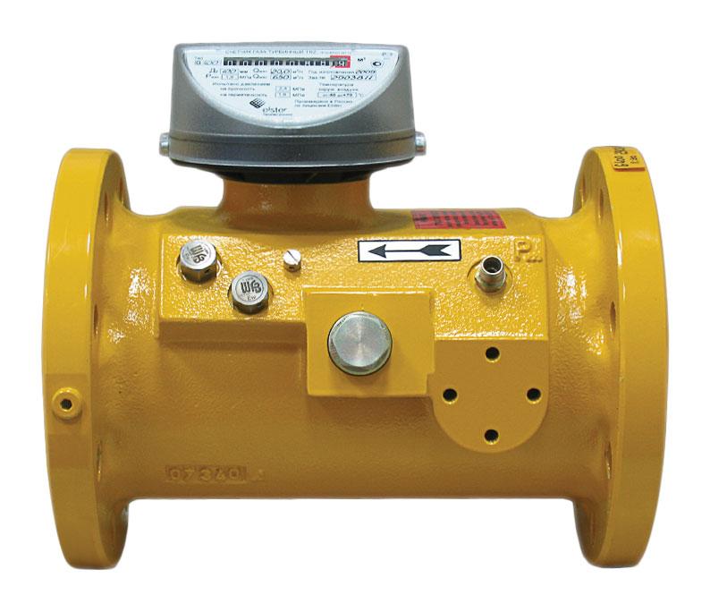 Комплекс для измерения количества газа СГ-ЭК-Т-2500 Ду=200мм TRZ-G1600
