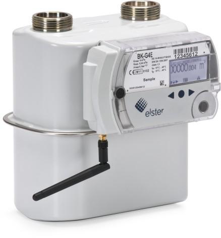 Внешний вид счетчика газа BK-G4ET