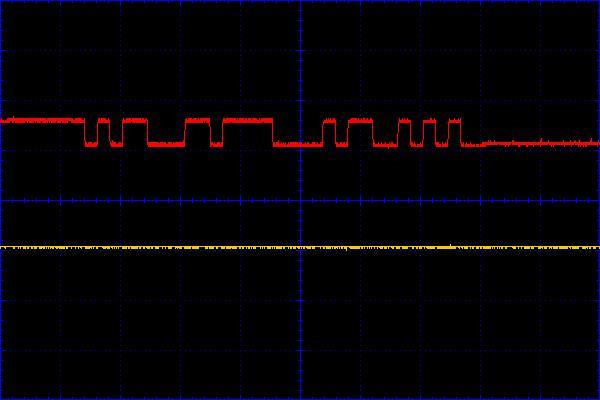 Рисунок 12 - Форма импульсов ADAM4520