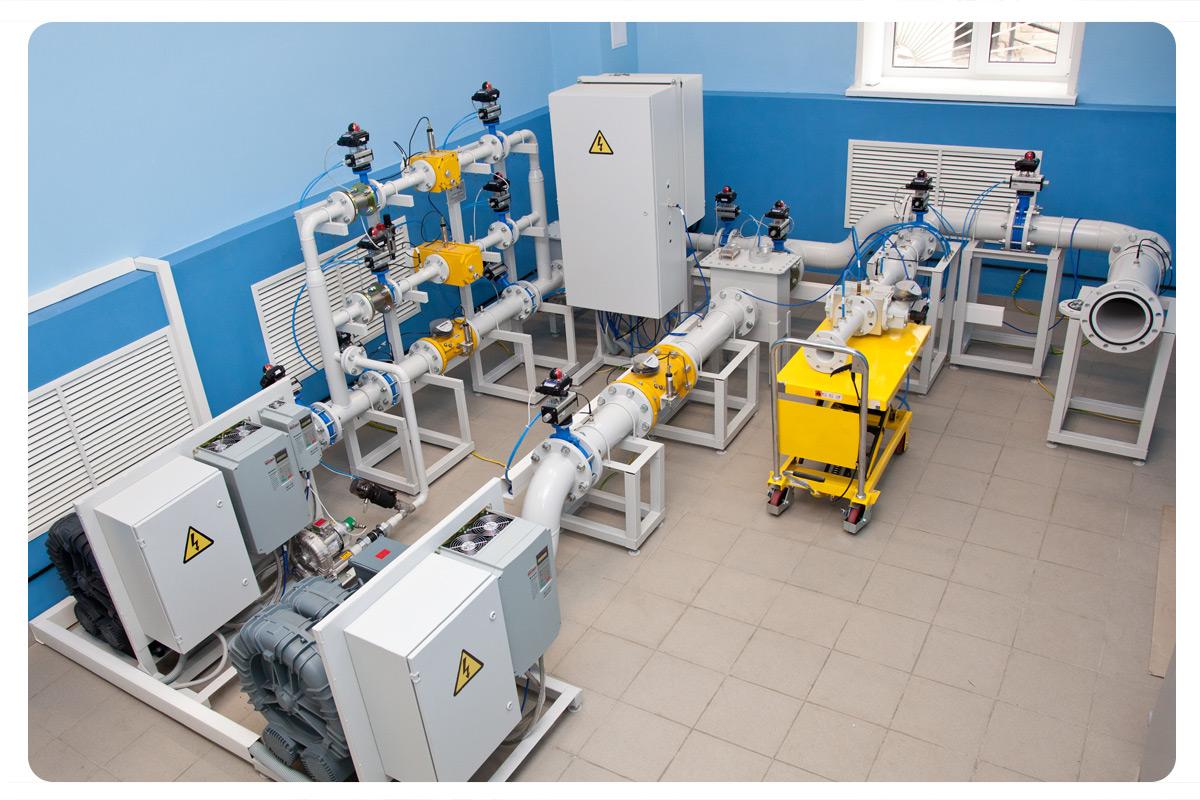 схема подключения промышленного газового счетчика