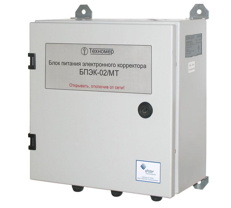 БПЭК-02/МТ – источник питания со встроенным GSM модемом для передачи данных с электронных корректоров ЕК270 и ЕК260