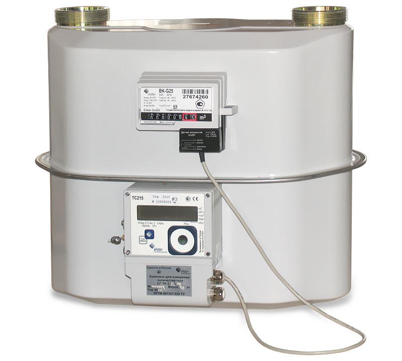 Комплекс для измерения количества газа СГ-ТК