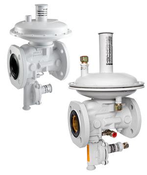 Регуляторы давления серии MR SF6 и MR SF12